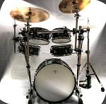 Blastech Drum Set with Rack & 20&#34; Bass Drum